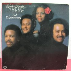 Discos de vinilo: GLADYS KNIGHT & THE PIPS ( 2ND ANNIVERSARY ) USA-1975 LP33 BUDDAH RECORDS. Lote 2444105