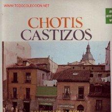 Discos de vinilo: CHOTIS CASTIZOS DISCO LP NAVARRO..APRUZZESE ORGANILLO. Lote 17898136