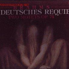 Discos de vinilo: BRAHMS CAJA CON 2 LP CON LIBRETO. Lote 26803815