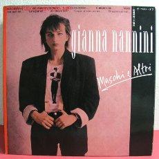 Discos de vinilo: GIANNA NANNINI ( MASCHI E ALTRI ) 1987 LP33. Lote 2467665