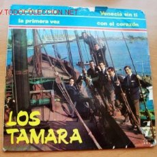 Discos de vinilo: LOS TAMARA - ZAFIRO. Lote 25911212