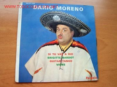 DARIO MORENO - EDITA PÉRGOLA (Música - Discos - Singles Vinilo - Canción Francesa e Italiana)
