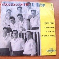 Discos de vinilo: LES COMPAGNONS DE LA CHANSON - EDITADO EN FRANCIA POR COLUMBIA. Lote 26045925