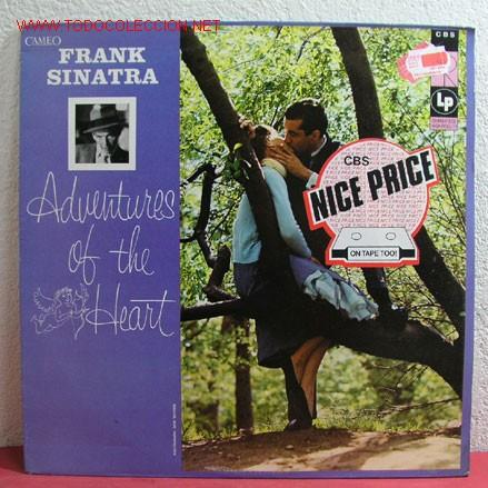 FRANK SINATRA - ADVENTURES OF THE HEART, UK 1984 LP CBS (Música - Discos - LP Vinilo - Cantautores Extranjeros)