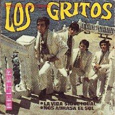 Discos de vinilo: LOS GRITOS DISCO SINGLE. Lote 2490728