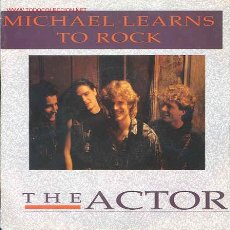 Discos de vinilo: MICHAEL LEARNS TO ROCK-THE ACTOR/AFRICAN QUEEN. Lote 2494143