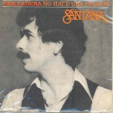Discos de vinilo: SANTANA-ONE CHAIN DON'T MAKE NO PRISON/WHAM. Lote 2499456