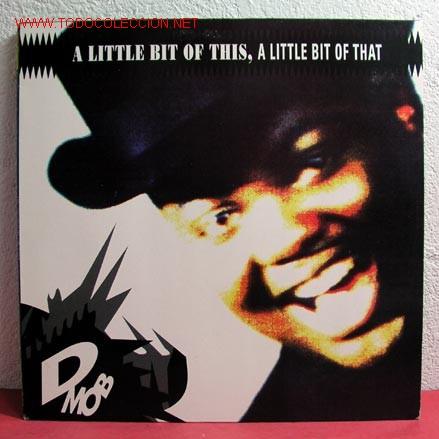 D MOB ( A LITTLE BIT OF THIS, A LITTLE BIT OF THAT ) 1989 LP33 (Música - Discos - LP Vinilo - Funk, Soul y Black Music)