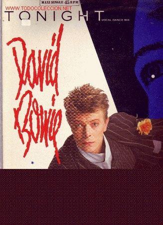 DAVID BOWIE DISCO MAXISINGLE (Música - Discos de Vinilo - Maxi Singles - Pop - Rock Internacional de los 70)