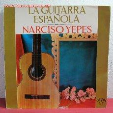 Discos de vinilo: NARCISO YEPES ( LA GUITARRA ESPAÑOLA ) 1964 LP33. Lote 2534843