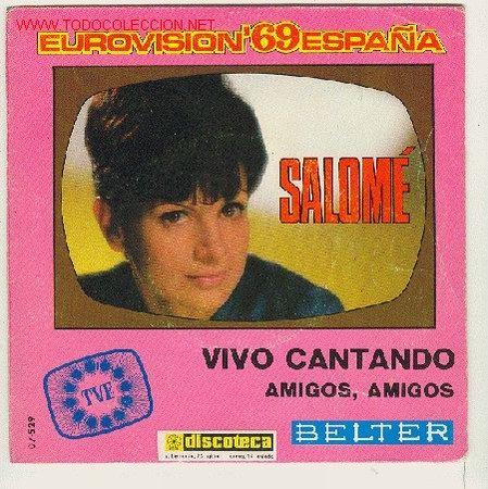 SALOME (Música - Discos de Vinilo - Maxi Singles - Festival de Eurovisión)