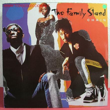 THE FAMILY STAND ( CHAIN ) 1989 LP33 (Música - Discos - LP Vinilo - Funk, Soul y Black Music)