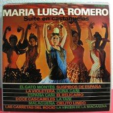 Discos de vinilo: MARIA LUISA ROMERO ( SUITE EN CASTAÑUELAS ) LP33. Lote 2561825