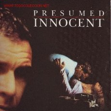 Discos de vinilo: PRESUNTO INOCENTE (PRESUMED INNOCENT) DISCO LP BANDA SONORA ORIGINAL MUSICA JOHN WILLIAMS. Lote 23182504