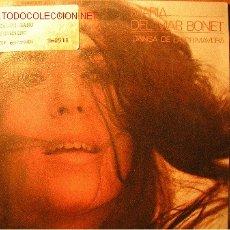 Discos de vinilo: MARIA DEL MAR BONET SINGLE 1985 DANSA DE LA PRIMAVERA / EL SALT DE LA BELLA DONA. Lote 25179552