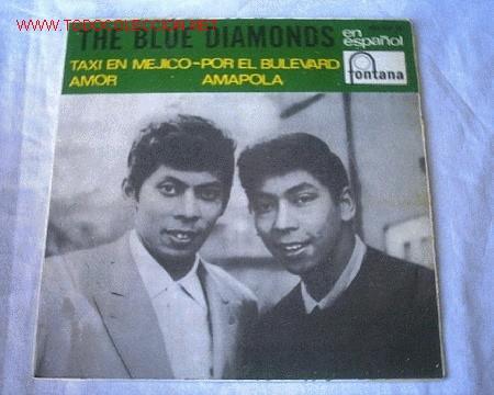 THE BLUE DIAMONDS - 1966 (Música - Discos - Singles Vinilo - Cantautores Internacionales)