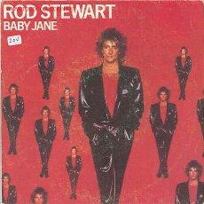 Disques de vinyle: ROD STEWART-/READY NOWBABY JANE. Lote 2586677