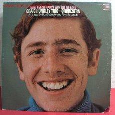 Discos de vinilo: CRAIG HUNDLEY TRIO + ORCHESTRA ( CRAIG HUNDLEY PLAYS WITH THE BIG BOYS ) USA LP33. Lote 2592001