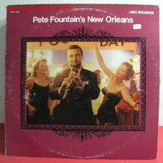 Discos de vinilo: PETE FOUNTAIN'S NEW ORLEANS USA LP33. Lote 2592011