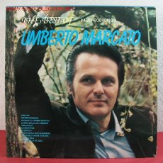 Discos de vinilo: THE BEST OF ' UMBERTO MARCATO ' & ORCHESTRA 'OSCAR TOSON' MILANO-1978 LP33. Lote 2594537