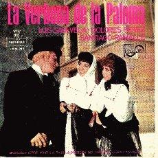 Discos de vinilo: ZARZUELA LA VERBENA DE LA PALOMA DE R. DE LA VEGA -TOMAS BRETON DISCO EP 4 TEMAS. Lote 16591785