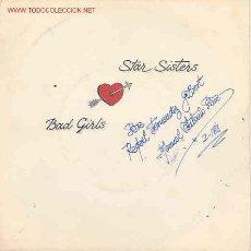Discos de vinilo: STAR SISTERS-BAD GIRLS/HEATWAVE. Lote 2612650