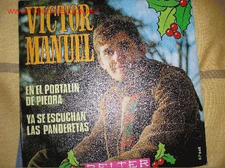 SINGLE 45 RPM VICTOR MANUEL (Música - Discos - Singles Vinilo - Country y Folk)