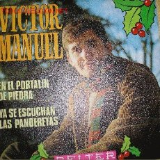 Discos de vinilo: SINGLE 45 RPM VICTOR MANUEL. Lote 27439497