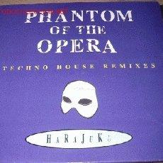 Discos de vinilo: PHANTOM OF THE OPERA - HARAJUKU. Lote 9208257
