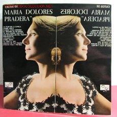 Discos de vinilo: MARIA DOLORES PRADERA ACOMPAÑADA POR LOS GEMELOS ( EXITOS DE MARIA DOLORES PRADERA ) MADRID-1967. Lote 2627894