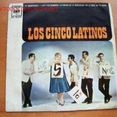 Discos de vinilo: LOS CINCO LATINOS - CBS. Lote 26200030