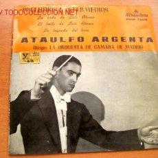 Discos de vinilo: ATAULFO ARGENTA: PRELUDIOS E INTERMEDIOS - EDITA ALHAMBRA - CON LA ORQUESTA DE CAMARA DE MADRID. Lote 25911217