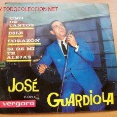 Discos de vinilo: JOSÉ GUARDIOLA - EDITA VERGARA. Lote 2633615