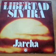 Discos de vinilo: JARCHA - EDITA ZAFIRO - DOS TEMAS: LIBERTAD SIN IRA - POLUCION. Lote 25911176