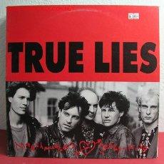 Discos de vinilo: TRUE LIES ( MARSHMUGGERS LOVE JELLY-FISH ) 1990 LP33. Lote 2635624