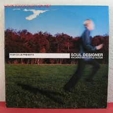 Discos de vinilo: FABRICE LIG PRESENTS SOUL DESIGNER WALKINGON A LITTLE CLOUD GERMANY-2002 LP33 DOBLE. Lote 2649699