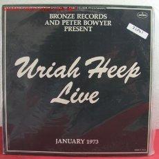 Discos de vinilo: URIAH HEEP ( URIAH HEEP LIVE ) CANADA-1973 LP33 DOBLE. Lote 2653495