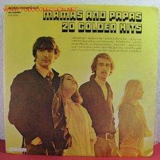 Discos de vinilo: MAMAS AND PAPAS '' 20 GOLDEN HITS '' CANADA-1973 LP33. Lote 2653706