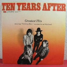 Discos de vinilo: TEN YEARS AFTER ( GREATEST HITS ) 1975 LP33. Lote 2653818