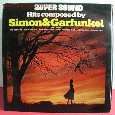 Discos de vinilo: HITS COMPOSED BY 'SIMON - GARFUNKEL' AND OTHERS LP33. Lote 2657411