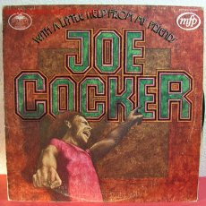 Discos de vinilo: JOE COCKER ( WITH A LITTLE HELP FROM MY FRIENDS ) ENGLAND-1971 LP33 MFP. Lote 2660283