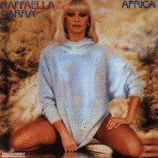 Disques de vinyle: RAFFAELLA CARRA-AFRICA + PORQUE EL AMOR SINGLE EDITADO POR HISPAVOX EN 1984. Lote 2705152