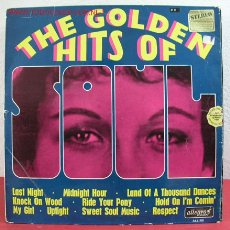 Discos de vinilo: 'STU' SMITH, TONY HALLET, THE NIGHT TRAIN & THE MARK 7 BRASS & SAXES (THE GOLDEN HITS OF SOUL). Lote 10822768