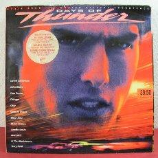 Disques de vinyle: DAYS OF THUNDER 'ELTON JOHN, MARIA MCKEE, DAVID COVERDALE, CHER, CHICAGO,...' 1990 LP33. Lote 3157904