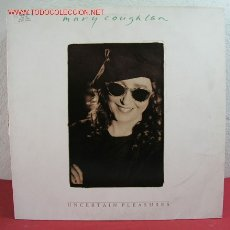 Discos de vinilo: MARY COUGHLAN ( UNCERTAIN PLEASURES ) 1990 LP33. Lote 2729611