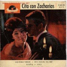 Discos de vinilo: CITA CON ZACHARIAS. Lote 22128516