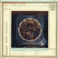 Discos de vinilo: EL MESIAS .HANDEL-. Lote 27179926