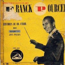 Discos de vinilo: FRANK POURCEL / MARJOLAINE (EP). Lote 2770257