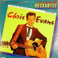 Discos de vinilo: ALLIGATORS / CHRIS EVANS-ROCAKBILLYGATOR + ORIGINAL ROCKABILLY LP DOBLE RARO EDIGSA 1981. Lote 2772863