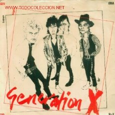Discos de vinilo: GENERATION X - FRIDAYS ANGELS - SINGLE RARISIMO EDICION INGLESA EN VINILO ROSA - PUNK. Lote 7613813